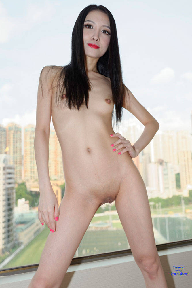 pussy Naked asian girls shaved