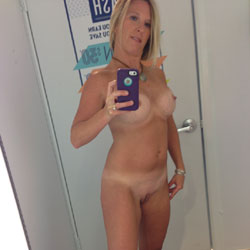 Clothed To Nude - Blonde, Big Tits, Wife/Wives