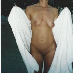 Medium tits of my wife - JEANNIE