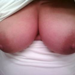 Large tits of a co-worker - Stacie