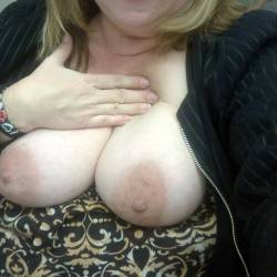 Large tits of my wife - Slut Wife