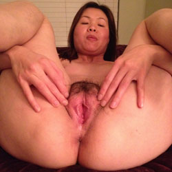 More Chinese Pussy - Brunette, Bush Or Hairy