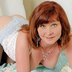 Wet Fantasy! - Redhead, Lingerie, High Heels Amateurs, Big Tits, Wet Tits