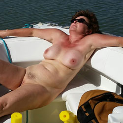 Labor Day Boating Fun 1 - Big Tits, Mature