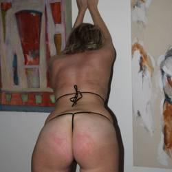 My girlfriend's ass - claudia