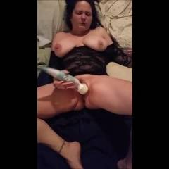 Playing For My Man - Big Tits, Brunette, Masturbation, Toys