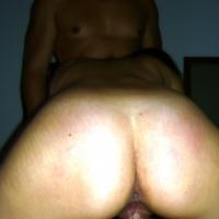 My wife's ass - tata