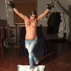 Tied And Forced To Pee Her Pants - Big Tits