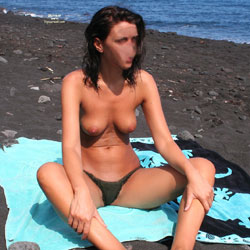 My Wife On The Beach - Beach, Wife/Wives