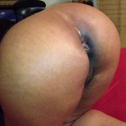 My wife's ass - EBONY BABE