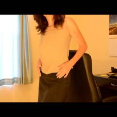 Zeena At The Office - Big Tits, Brunette, Masturbation, Softcore