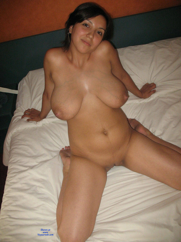 Girl busty shaved amateur the only