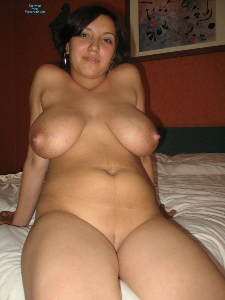 Wifes at home with big tits
