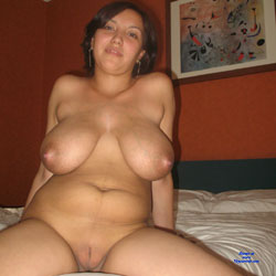 Chilean Titty Wife - Big Tits, Brunette, Shaved, Wife/Wives