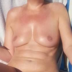 Small tits of my girlfriend - Lisa