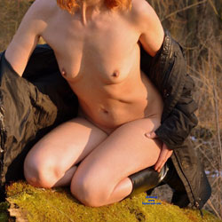 Coolish Fun Down The Floodplain Forest - Nude In Public, Wife/Wives