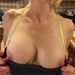 Medium tits of my wife - CC X