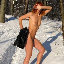 Redhead In Snow Nudity - Boots, Exhibitionist, Exposed In Public, Full Nude, Hard Nipple, Naked Outdoors, Nipples, Nude In Nature, Nude In Public, Redhead, Showing Tits, Small Tits, Snow, Naked Girl, Sexy Body, Sexy Figure, Sexy Girl, Sexy Legs