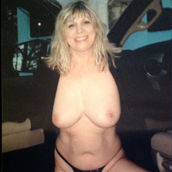 Gone Camping - Big Tits, Blonde