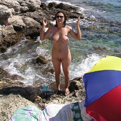 Croatian Summer - Beach, Big Tits, Brunette