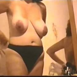 Very large tits of my girlfriend - alma