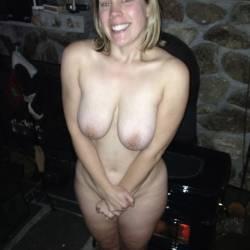 Large tits of my girlfriend - Jennifer
