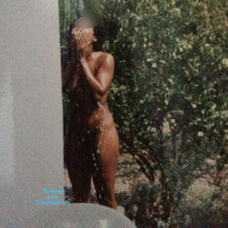 Outdoor Shower  - Wife/Wives