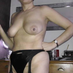 Large tits of my wife - Brown Sugar