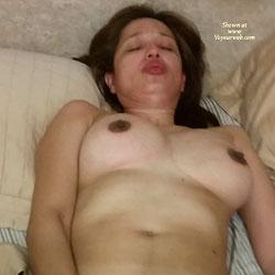 Leo's Hot Night - Big Tits, Brunette, Bush Or Hairy