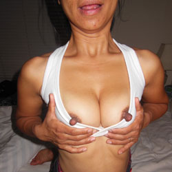 Maria's Hot Body And Big Nipples - Big Nipples, Long Nipples