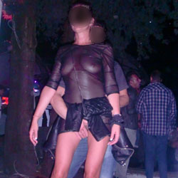 Discotheque - Public Exhibitionist, Public Place, See Through