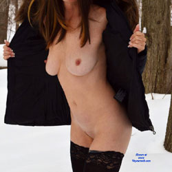 Zeena's Snow Nudity - Big Tits, Exposed In Public, Firm Tits, Naked Outdoors, Nipples, Nude In Nature, Nude In Public, Nude Outdoors, Redhead, Showing Tits, Snow, Stockings, Trimmed Pussy, Hot Girl, Sexy Body, Sexy Boobs, Sexy Figure, Sexy Girl, Sexy Legs
