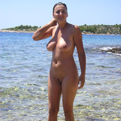 Croatian Summer 2 - Beach, Big Tits, Brunette