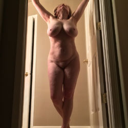 Mature Woman Showing Off Her Body - Big Tits, Mature
