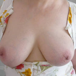 Large tits of my wife - kate