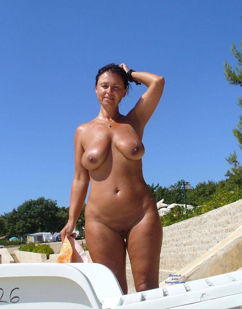 Short Chubby Brunette Big Tits