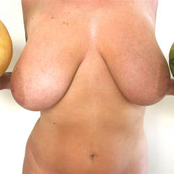 Very large tits of my ex-wife - anne