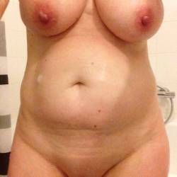 Large tits of my wife - EU Mature
