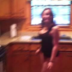 Sara Having Fun With Camera - Brunette
