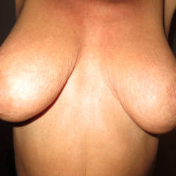 Very large tits of a neighbor - Stephie
