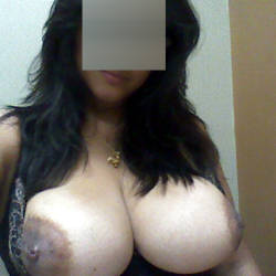 Very large tits of my wife - Angela