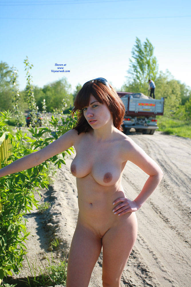 Hot Nude Photography Outdoors Pic