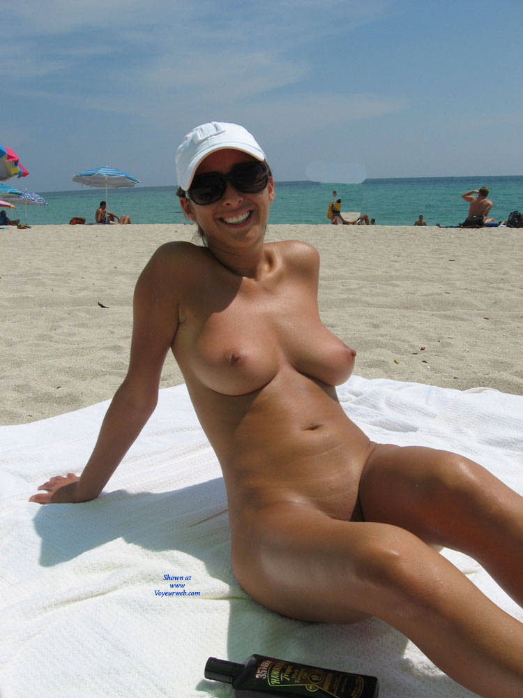 milf beach Shaved on
