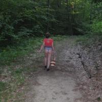 My girlfriend's ass - insatiable