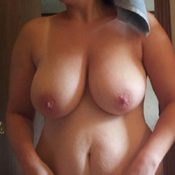 Freshly Showered - Big Tits