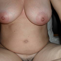 Very large tits of my wife - Dalia