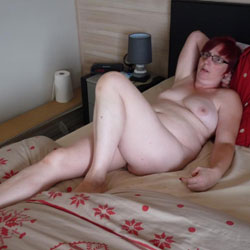 On The Bed Continued - Big Tits, Close-Ups