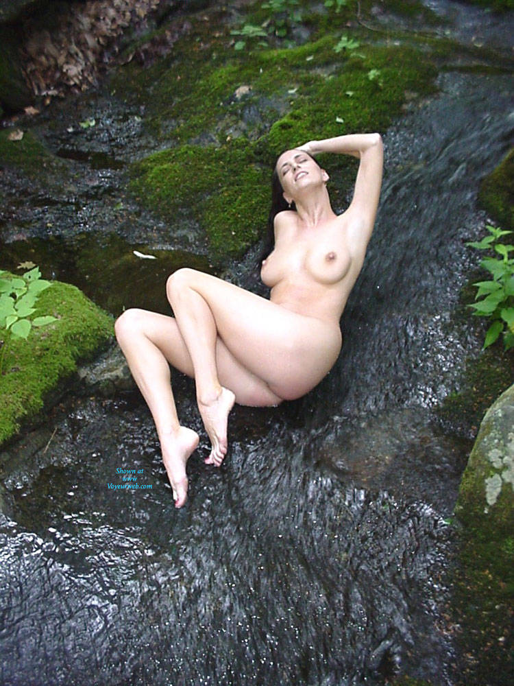 Woods And Water - Big Tits, Brunette Hair, Nude In Public , Perfect Ten, Nude Babe, Horny Slut, Sexy Girl, Hourglass Figure