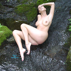Woods And Water - Big Tits, Brunette Hair, Nude In Public