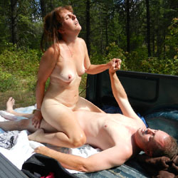 Trucks, Fucks And The Great Outdoors - Big Tits, Outdoors, Wife/Wives